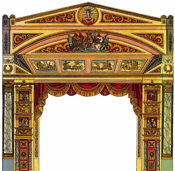 antique paper theatres | Shadowbox & Paper Theater