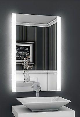 Inspirational Bricode S d LED Badspiegel Persis B Badezimmer Wandspiegel mit Beleuchtung