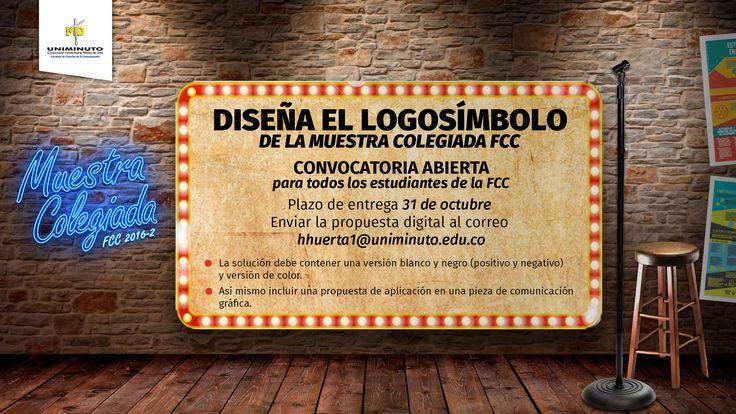 Diseña el logo de LA MUESTRA COLEGIADA FCC 2016
