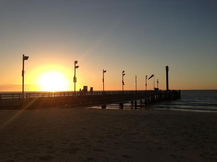 Sunset at Tangalooma. Thanks to Cynthia Hein.     Taken Tuesday 29/1/2013