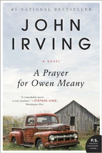 the theme of death and dying in the novel a prayer for owen meany by john irving A prayer for owen meany essay in his novel a prayer for owen meany, author john irving uses a final chapter of over 100 pages to provide appropriate closure of his intricate novel in the final chapter, irving provides answers to large questions the rest of the novel raises.