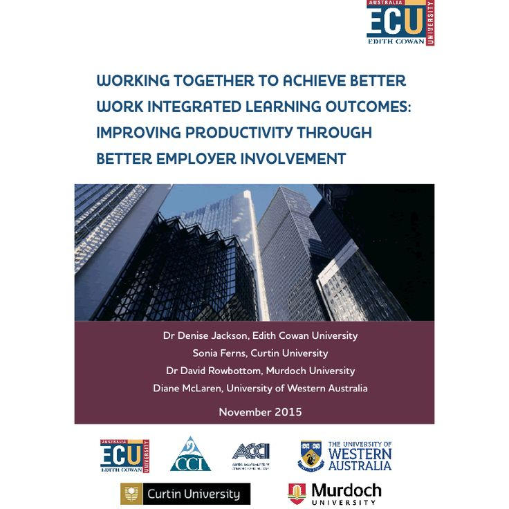 Strategic leadership for work integrated learning