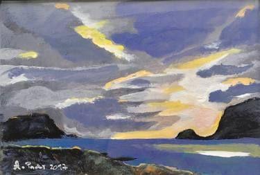 """Saatchi Art Artist Agata Padol; Painting, """"North Cape 8"""" #art"""