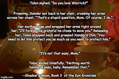Shadow's Moon, Bk.3 of The Kyn Kronicles