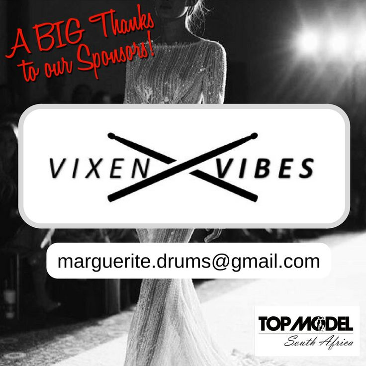 Thanks to Vixen Vibes for your sponsorship! We appreciate your support! They are an amazing act. Come and see them at the grand finale. Contact them on marguerite.drums@gmail.com #TMSA17 #TMSASponsor