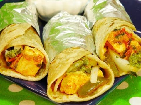 Indian Street Food - Egg Paneer Roll  Amazing Delhi Street Food