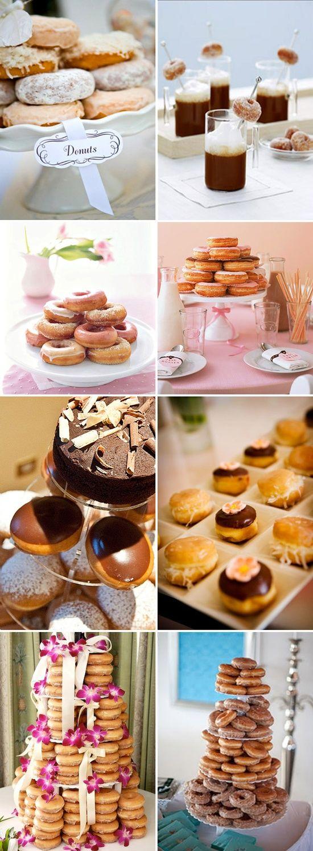 "evening breakfast wedding reception | Breakfast for Dinner"" Evening Wedding Reception / Donuts, Donuts ..."