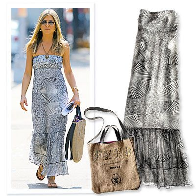 Jennifer Aniston's Chic Maxi Dress