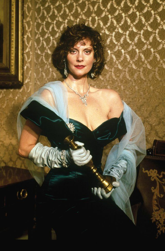 Miss Scarlet, Lesley Ann Warren from Clue... I quote her from this movie on a monthly basis.