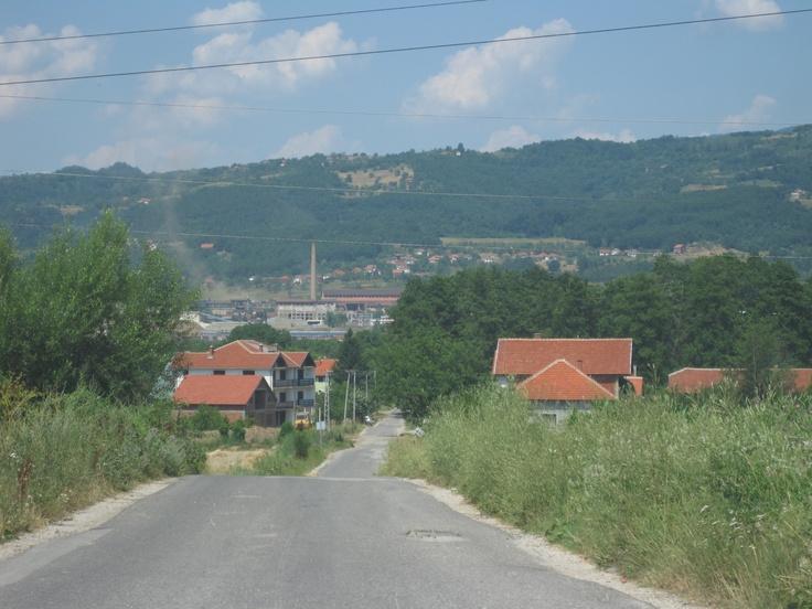 Izlaz iz Selo Dugojnice - Nasip