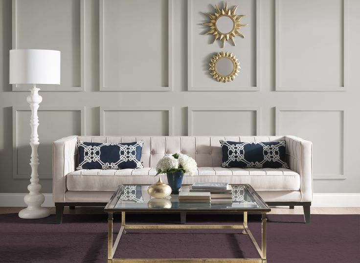 Living Room In Candlestick Silver