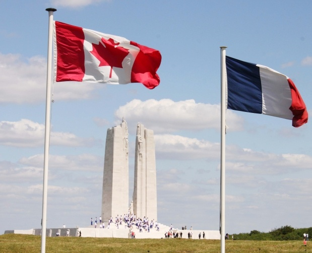 "The Battle of Vimy Ridge marked ""the birth of a nation"" for Canada, says Governor General David Johnston. Johnston and a Canadian delegation of politicians and 5,000 students gathered at the Canadian National Vimy Memorial in France Monday afternoon to commemorate the 95th anniversary of the surprising and striking victory for Canada's military."