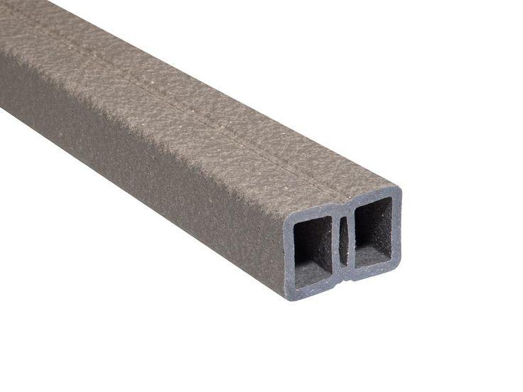 UPM ProFi  WPC Unterkonstruktion,  40x60 mm, Silbergrün, L = 4,0m