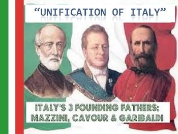 The 19th century was a time of great change for Italy as the modern world emerged. The most prominent events of this time however, revolve around the rise of the Italian unification movement.