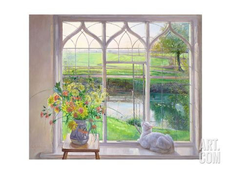 Dawn Breeze Giclee Print by Timothy Easton at Art.com