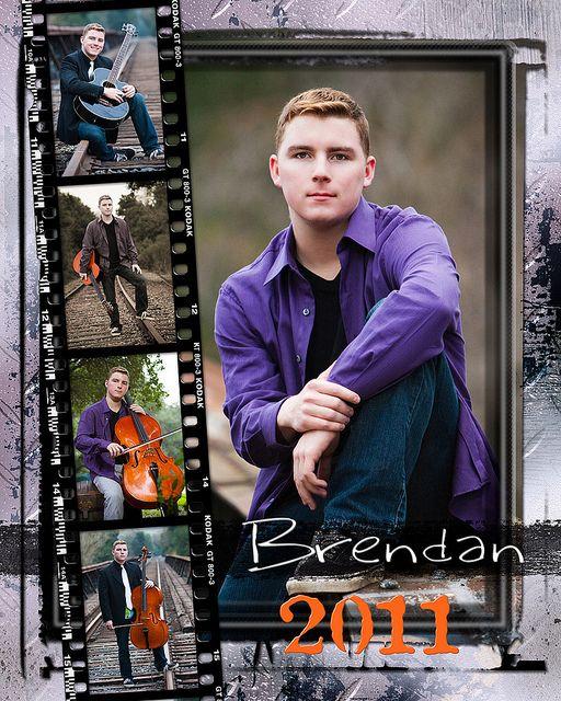 Brendan {Male Senior Portrait} 8x10 Senior Frame by DB-Photography, via Flickr