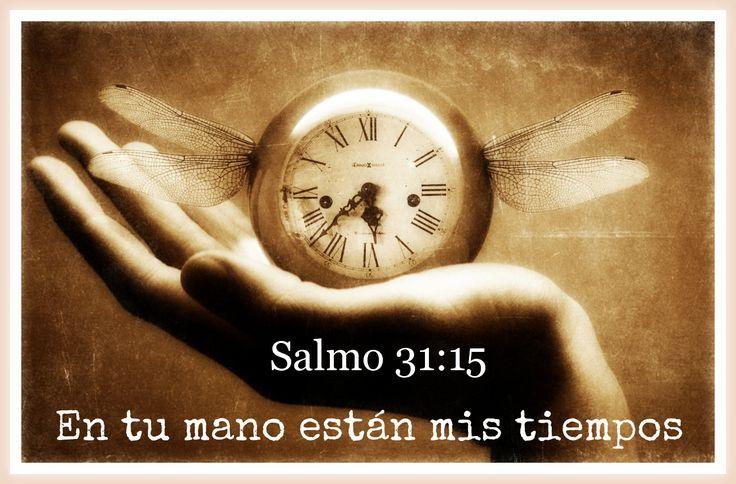 en tu mano est n mis tiempos salmo 31 15 devotional