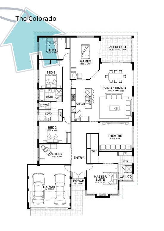 Like the layout but kitchen too small?