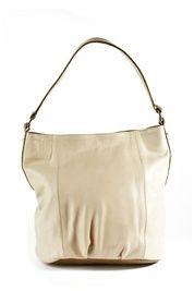 Thalia Handbag in Beige and Olive at #Indiemode
