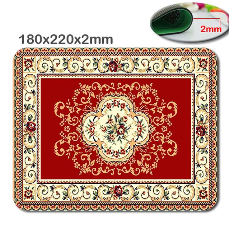 Hit the Arab multilayer flower-shaped model  anti-skid carpet durable lasting comfort photoelectric mouse pad creative mode