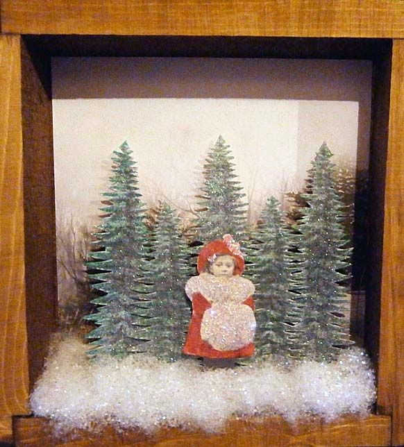 Christmas Shadow Box Ideas