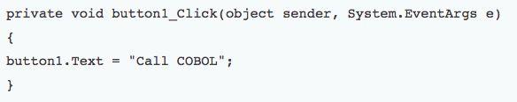"""COBOL versus C# part two  via """"COBOL Programming: Hot or not?"""""""