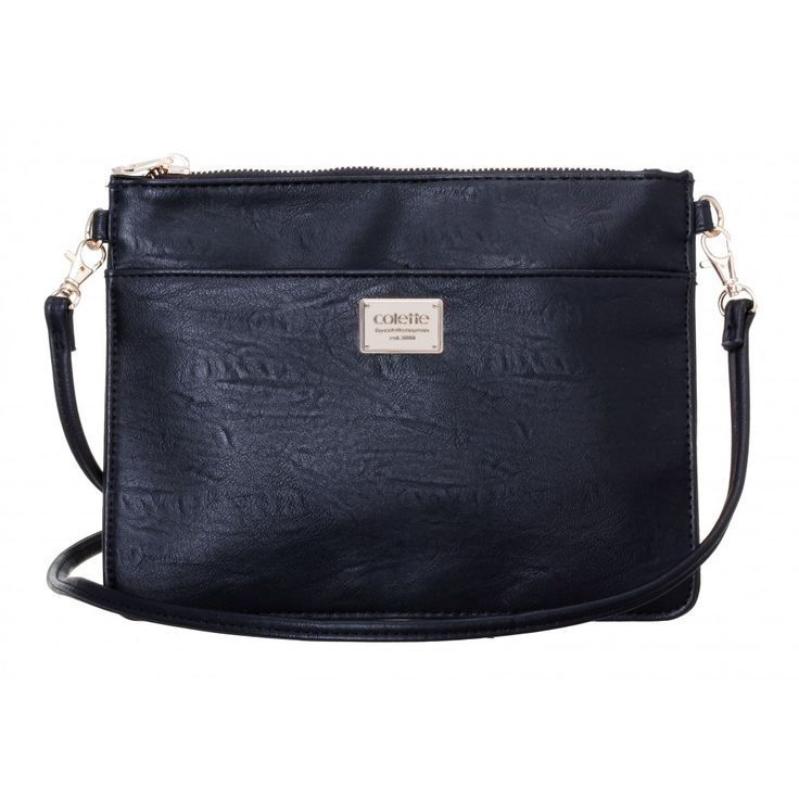 Tina Crossbody Pouch in BLACK #26050 - colette by colette hayman
