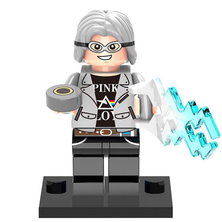 "- MInifigure from X-Men Apocalypse Movie - Quicksilver - 2"" tall - Not Lego Brand - Free shipping for ALL USA buyers. International buyers pay actual postage. (If international buyer is charged more t"