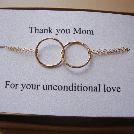 Eternity Bracelet & Card Set  Interlocking links by lizix26, $29.00