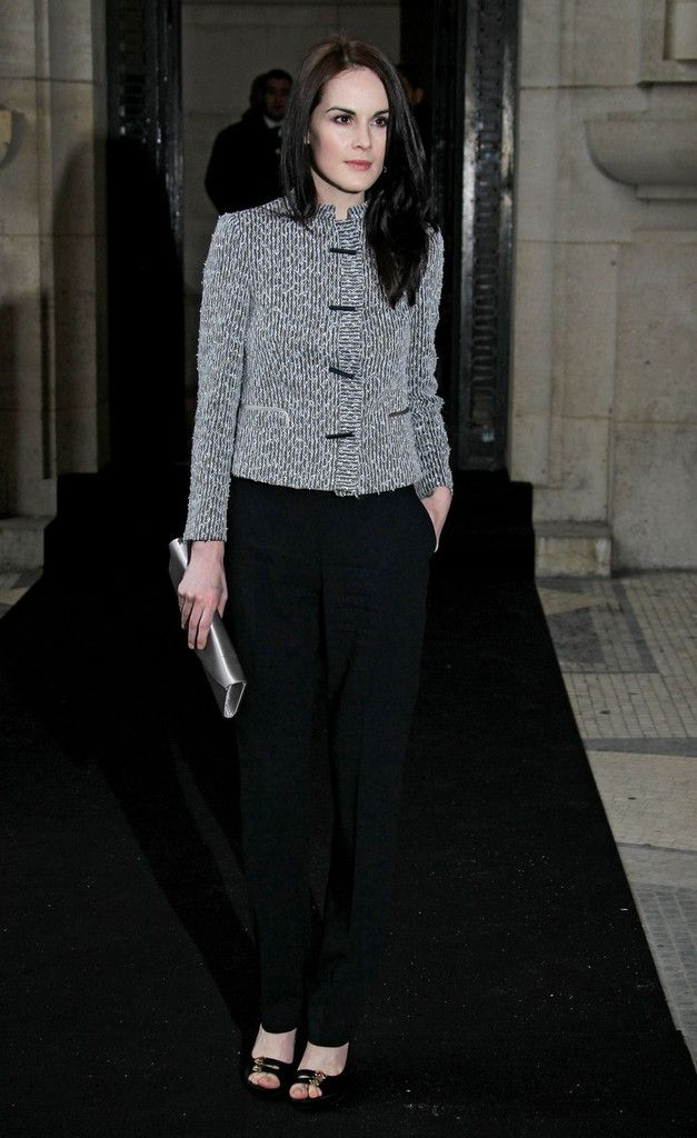 Michelle Dockery Photos: Jess Weixler at the Giorgio Armani Prive fashion show during Paris Haute Couture week
