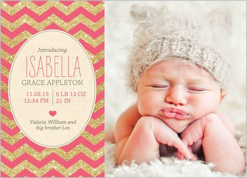 23 best Baby girl announcements images – Baby Girl Announcements Pinterest