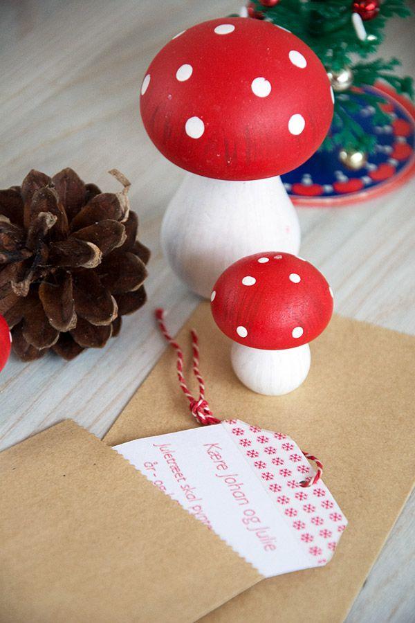 Julekalendergaver med opgaver fra nissen