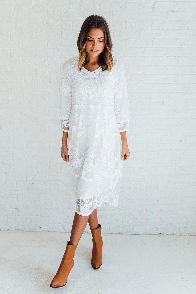 M s lace dress ribbon