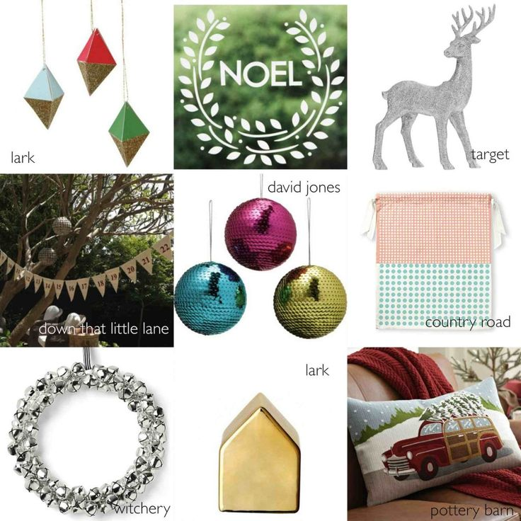 Where to buy {cool} Christmas decorations from