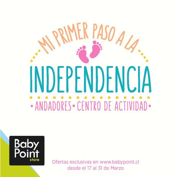 """Amigos! Comenzamos con """"Mi primer paso a la #Independencia"""" Todos los productos para apoyar a tu bebé a dar sus primeros pasitos, los encuentras aquí ¡Y con geniales descuentos! Revísalos aquí -> bit.ly/1Cs0J39"""