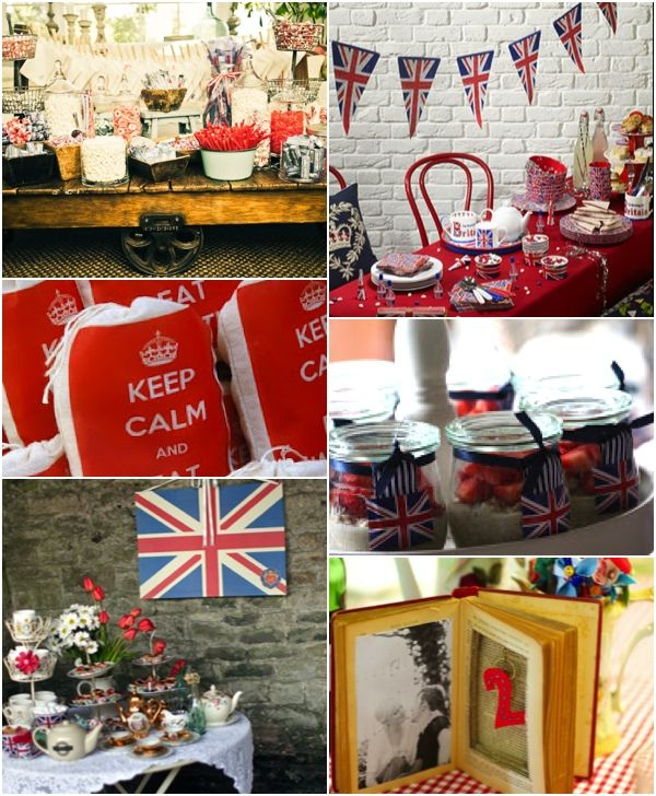 British party inspiration. Maybe a doctor who party...