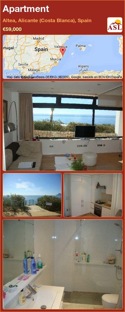 Apartment in Altea, Alicante (Costa Blanca), Spain ►€59,000 #PropertyForSaleInSpain