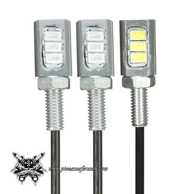 Luces de Matrícula Atornillables 12V 3SMD 5630 LED Color Plateado para Coche Moto - 2,51€ - ENVÍO GRATUITO EN TODOS LOS PEDIDOS