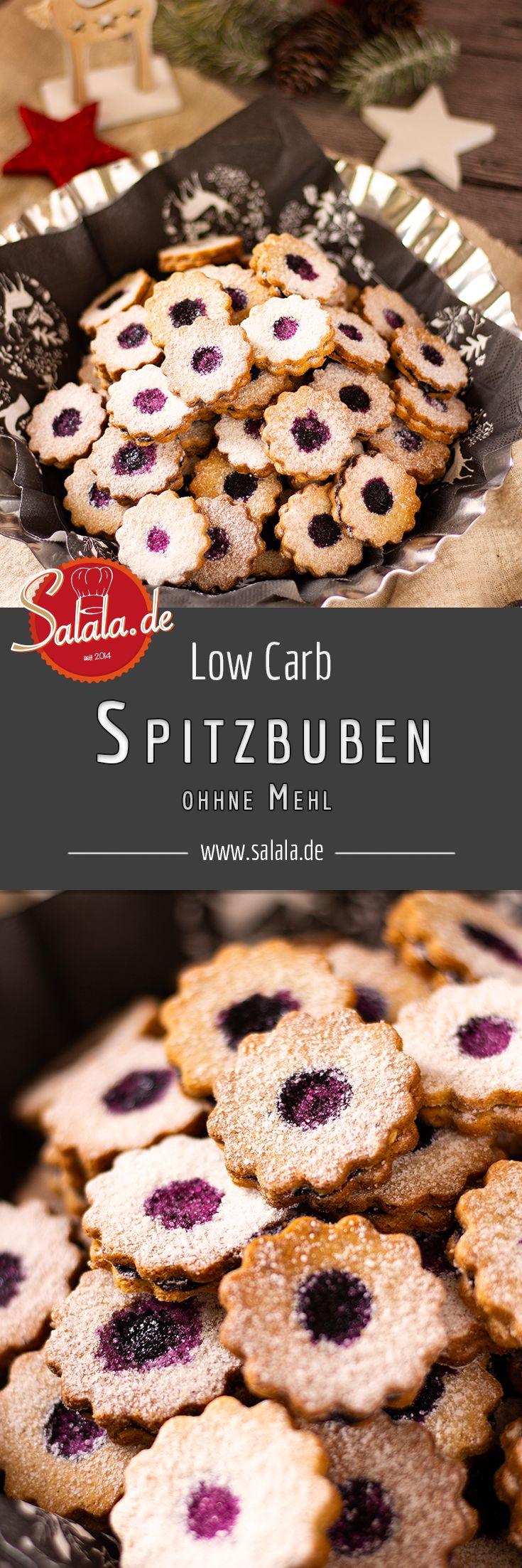 Spitzbuben – zuckerfreie Weihnachtsplätzchen – salala.de – Leckere Low Carb Rezepte zum kochen und backen