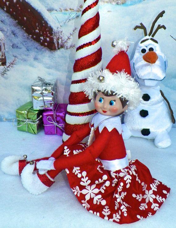 Custom Made Christmas Elf On The Shelf Clothing For Girls By