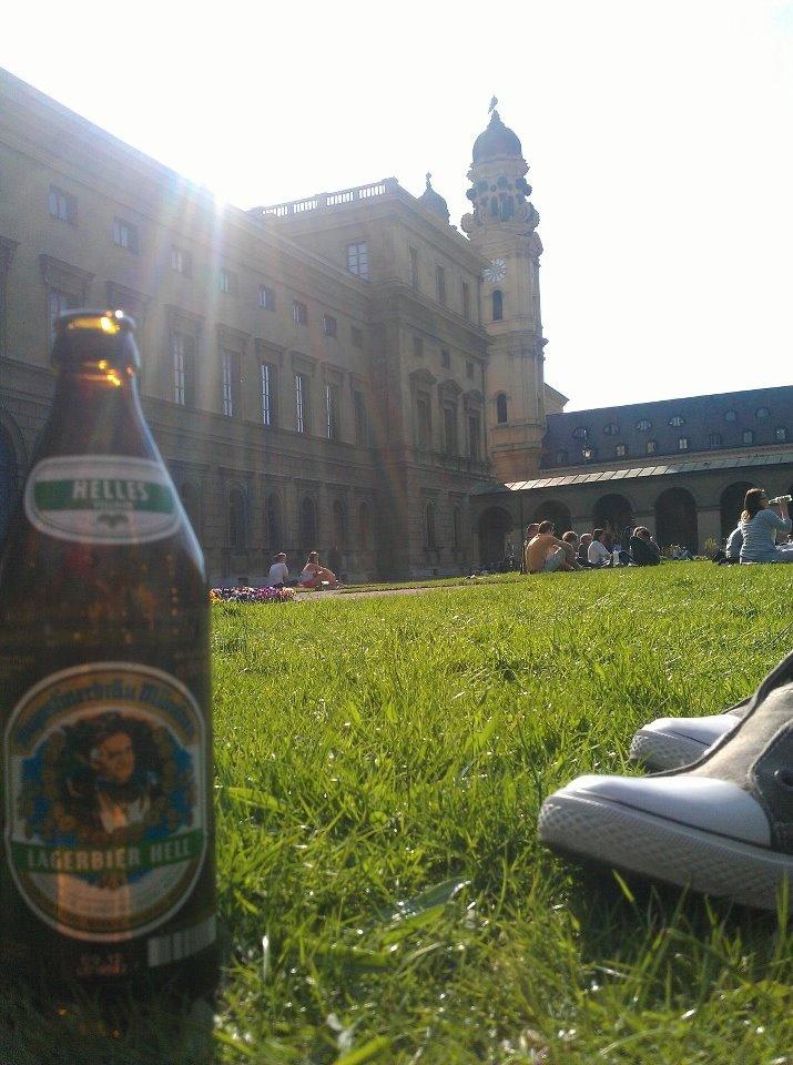 Augustiner Beer (best beer in Germany!)