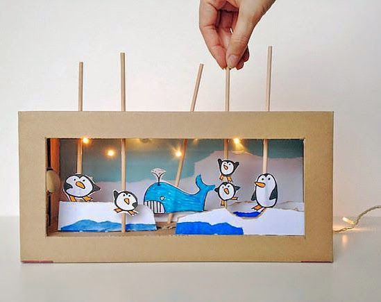 mommo design: 6 RECYCLED CARDBOARD TOYS - LOVE these!!