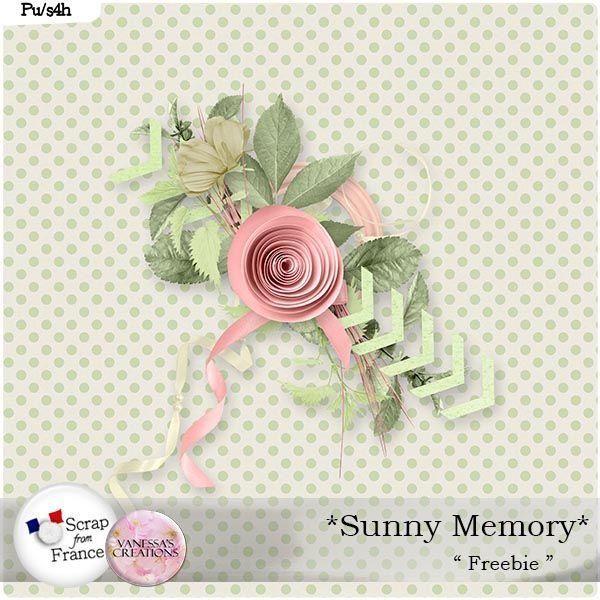 Sunny Memory by Vanessa's Creations { Freebie }