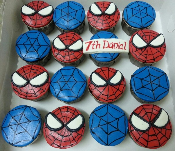 Spiderman Theme Cupcakes SPIDERMAN PARTY FOR NICO ...