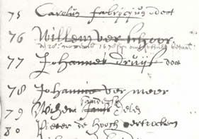 register of the Delft Guild of St. Luke