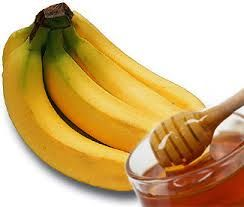 DIY Banana & Honey Hair Mask! Mix 1/2 a mashed banana with 1 Tbsp honey & 1 Tsp Apple Cider Vinegar. Apply to hair and leave on for 10-20 minutes and then rinse & shampoo well. Hair will be left moisturized, smooth and static free. #diy #hairmask #banana #honey