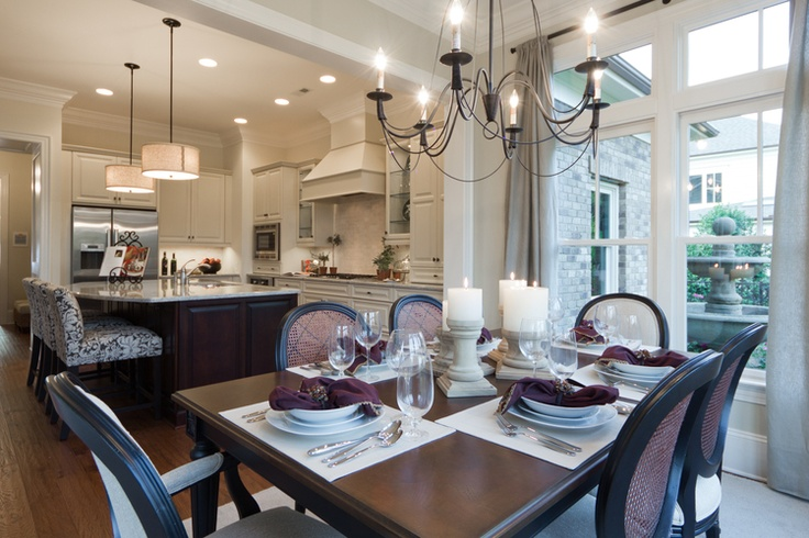 combined kitchen and dining room | kitchen dining room combo. consider bedroom on other side ...