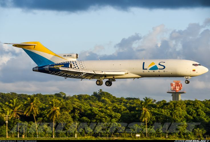 Boeing 727-2S2F/Adv(RE) Super 27, Lineas Aéreas Suramericanas, HK-4636, cn 22927/1821, cargo, first flight 5.8.1983 (FedEx). Foto: Santiago, Brazil, 12.3.2016.