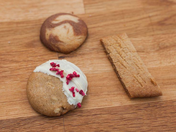 Cecilias kolakakor, minicookies och vanilj- och chokladkakor | Recept från Köket.se