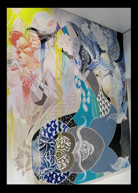 #wall #mural